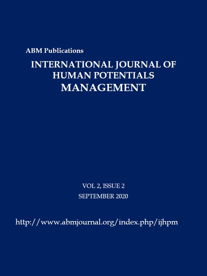 International Journal of Human Potentials Management. Browse this online journal at http://www.abmjournal.org/index.php/ijhpm